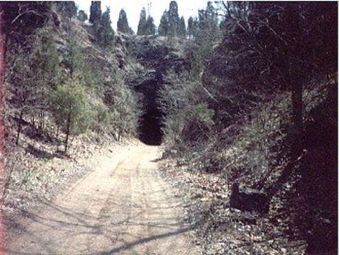 The way to the final resting place of many fine